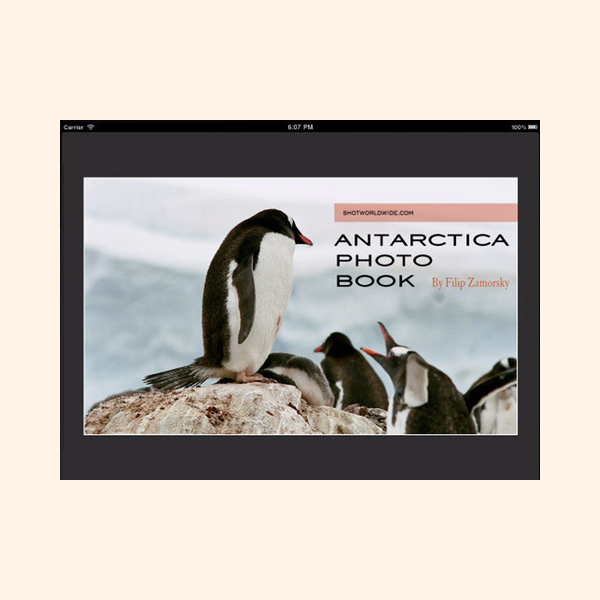 Antarctica Photo Book